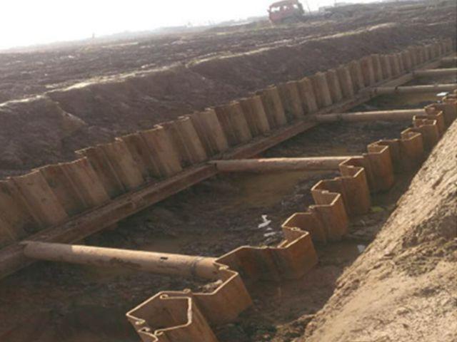 拉森钢板桩施工费用_拉森钢板桩出售相关-湖南福焱机械设备有限公司