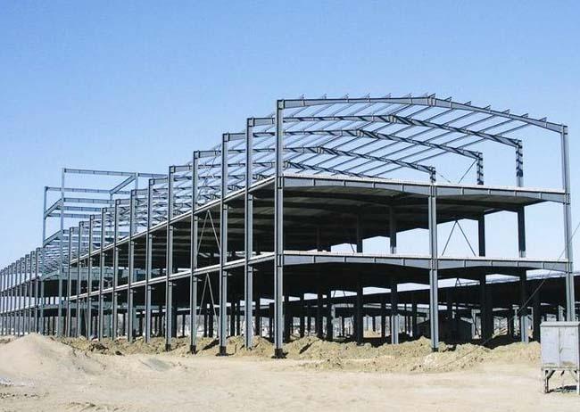河南大跨度钢结构厂房工程_钢结构建筑相关-宜阳县洛亿彩钢厂