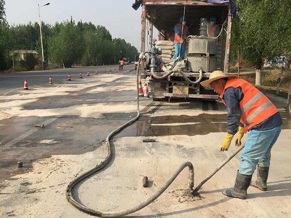 桥头注浆工程_地基工程施工工程-河南庆昌公路工程有限公司