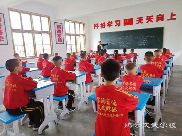 湖南有哪些武术学校_武术学校学费多少相关-澧县腾云文武学校