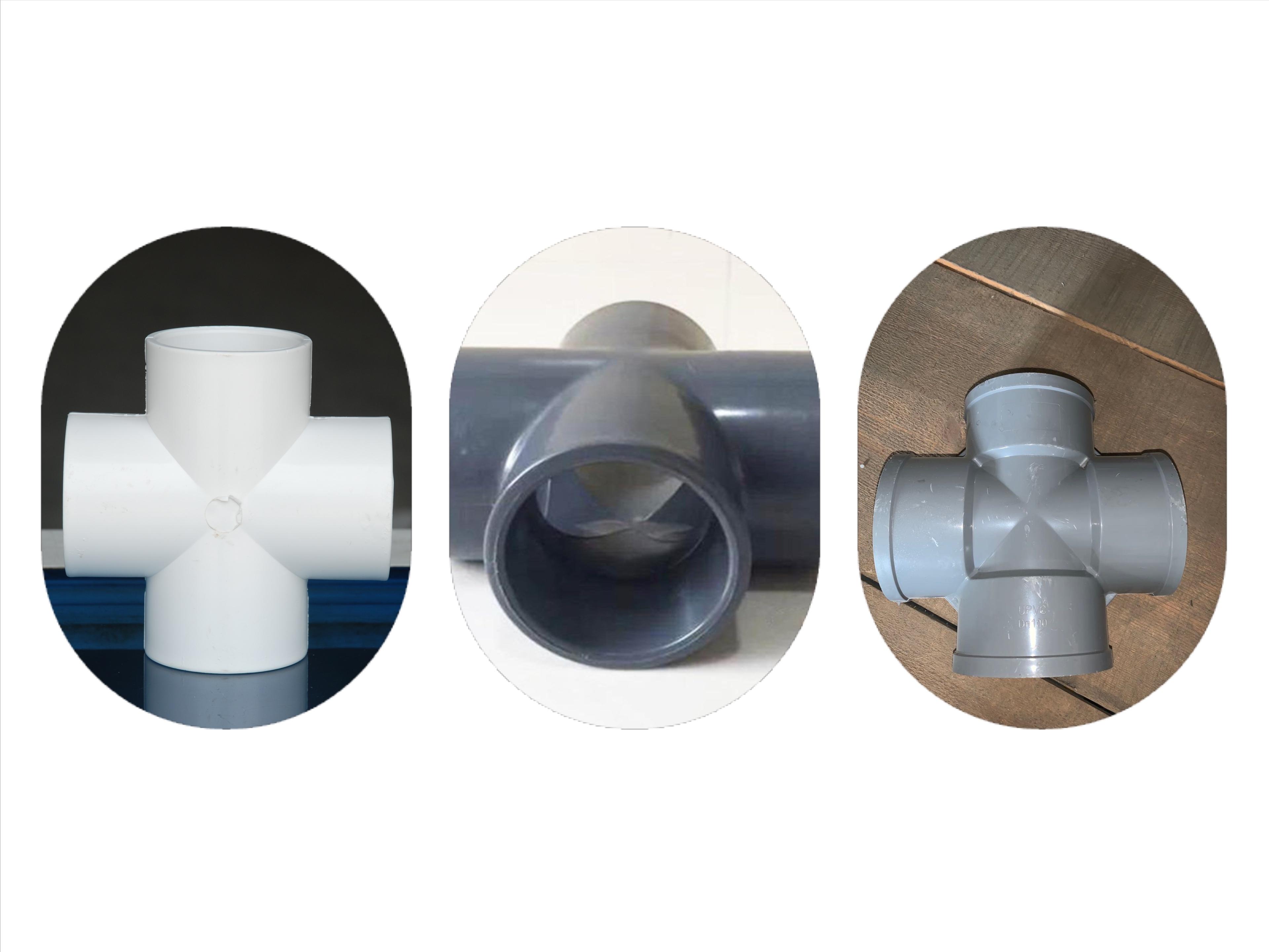 山东智能PVC90度弯头双承弯头加工_智能PVC管价格-山东汇通达塑业有限公司