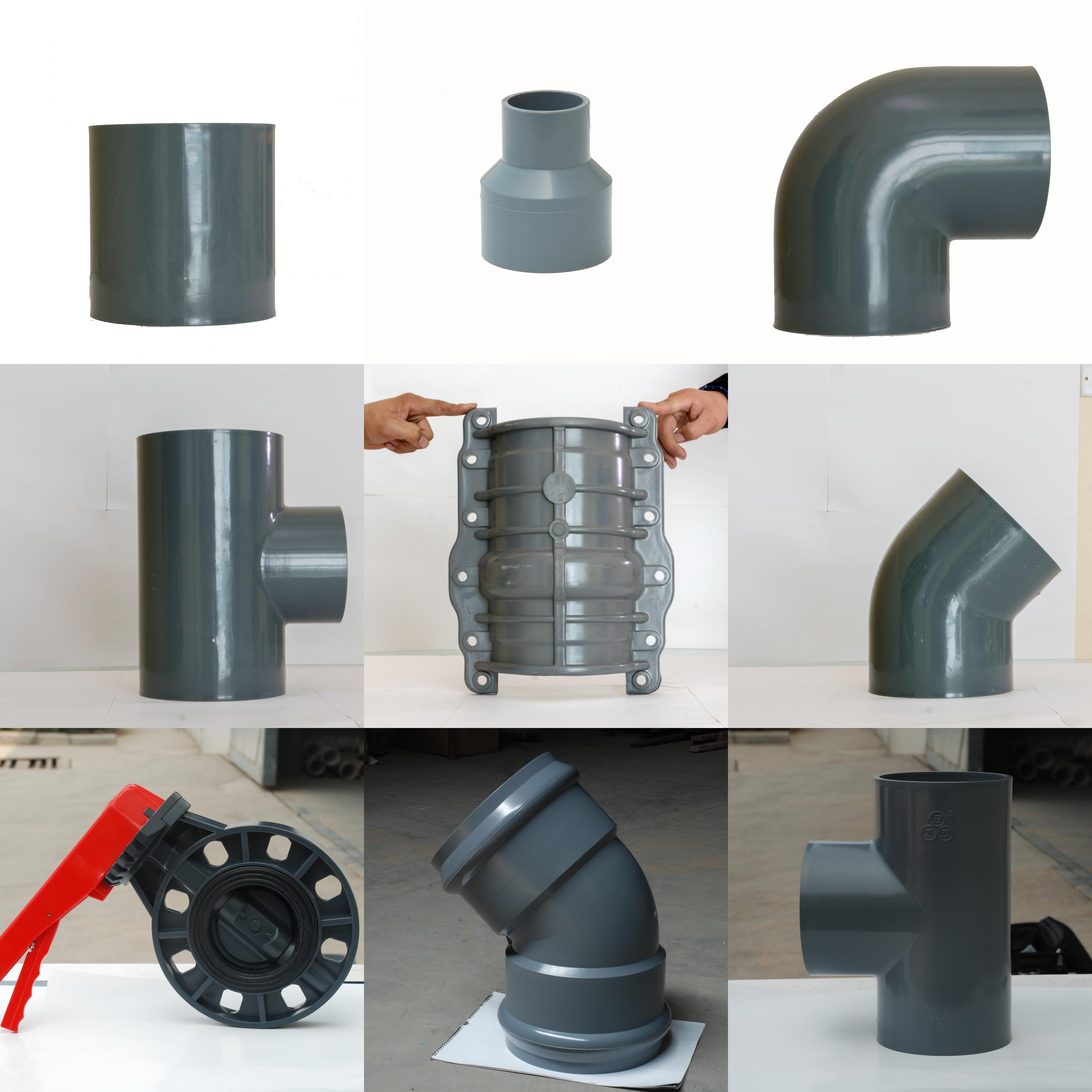 质量好PVC90度弯头双承弯头报价_智能PVC管施工-山东汇通达塑业有限公司