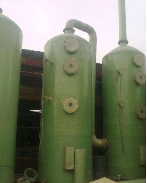 德州玻璃钢脱硫塔生产厂家_玻璃钢复合脱硫塔相关-河南三鑫企业发展有限公司