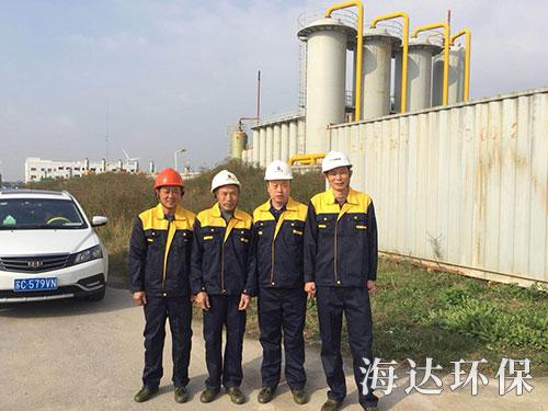 砖厂脱硫除尘_上海环保项目合作-岳阳海达环保科技有限公司