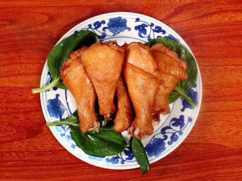 正宗五香鸡腿零售批发_ 五香鸡腿出售相关-河南银海食品有限公司