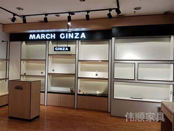 化妆品展柜厂家_化妆品展示柜理发店相关-长沙县伟顺家具有限公司