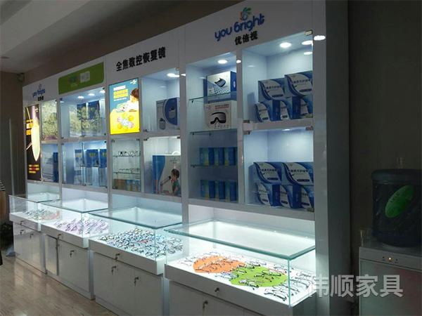 长沙专业眼镜展柜制作哪家好_制作眼镜展柜相关-长沙县伟顺家具有限公司