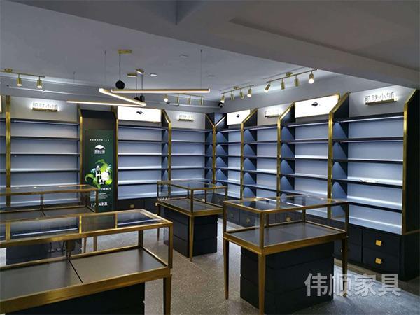 湖南化妆品展柜定做_长沙报价-长沙县伟顺家具有限公司