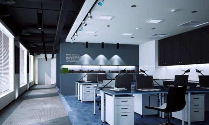 现代化办公室装修创意图_装修设计和装潢设计相关-济南飞宇办公设备有限公司