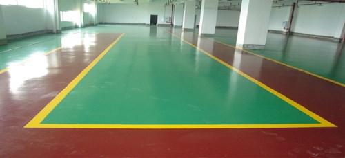 广东环保PU球场地板_室内塑料地板-深圳市天和环氧地坪工程有限公司
