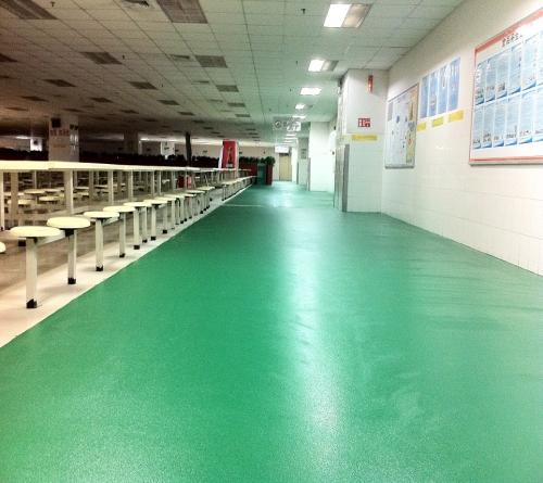 東莞室內彈性地板材料_室外塑料地板-深圳市天和環氧地坪工程有限公司