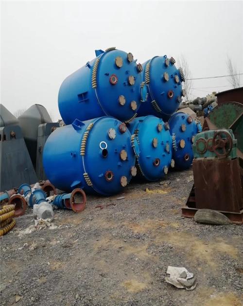 销售二手20吨电加热搪瓷反应釜_搪瓷反应釜 100l相关-梁山弘瑞机械设备有限公司