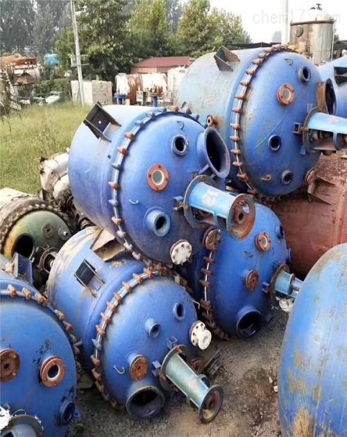 哪里有二手10吨搪瓷反应釜_5吨搪瓷反应釜相关-梁山弘瑞机械设备有限公司