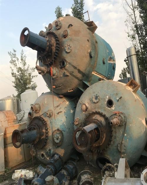 二手蒸汽电加热搪瓷反应釜_5吨搪瓷反应釜相关-梁山弘瑞机械设备有限公司