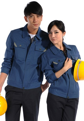防静电生产劳保服来样定做_防酸碱生产制服、工作服-晋江市安海镇工能服装加工厂