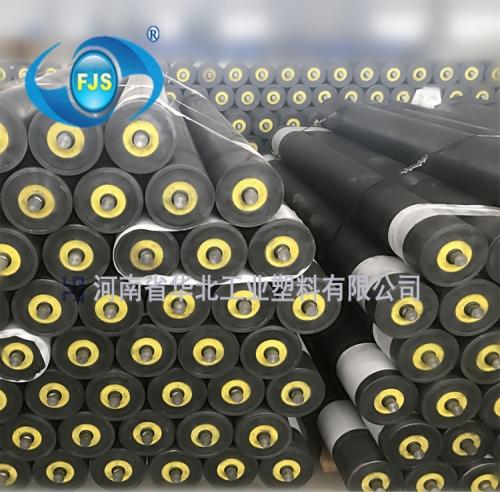 非金属煤矿井工用托辊-河南省华北工业塑料有限公司