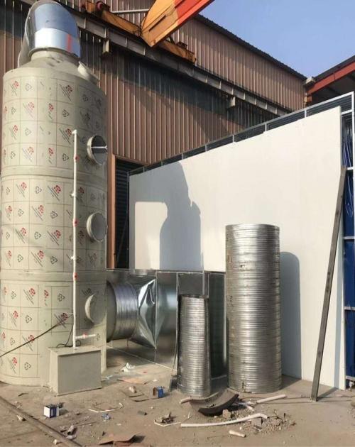 濟南噴淋塔除臭設備_PP廢氣處理成套設備-山東旭楓電子商務有限公司