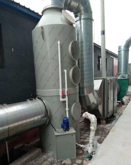 UV光氧废气处理设备环保箱_活性炭废气处理成套设备-山东旭枫电子商务有限公司