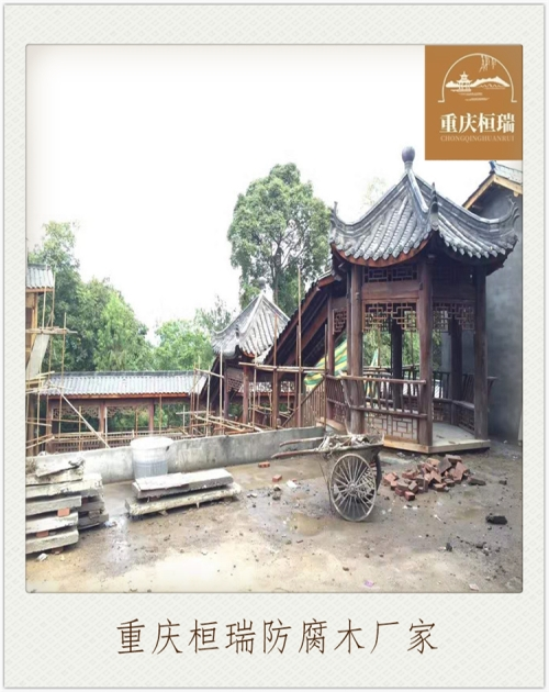 茶园景观休闲凉亭价格_凉亭设计相关-重庆桓瑞木制品有限公司