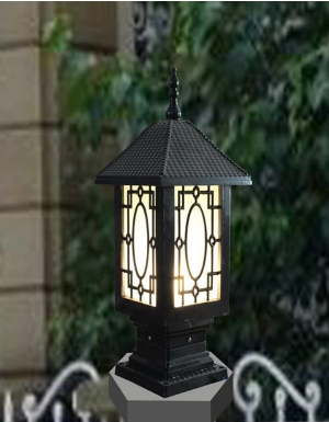 商丘墙头灯生产厂家_庭院灯多少钱-河南绿源灯饰有限公司