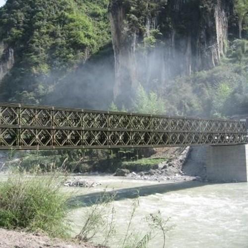 吉林贝雷片钢桥_桥梁交通运输产品加工一片多少钱-湖南首创路桥装备制造有限公司