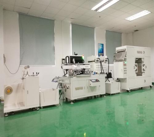 CCD视觉定位丝印机品牌 视觉定位全自动丝网印刷机品牌