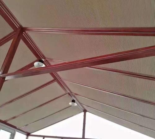 阳光房专用窗帘批发 电动蜂巢帘定做