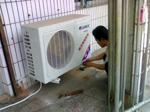 山东室外空调移机公司_空调移机维修相关-济南市中泉舜搬家服务部