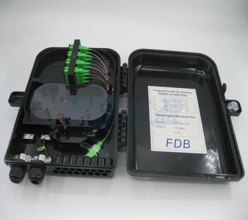 72芯光缆分纤箱价格 光缆分纤箱安装示意图相关