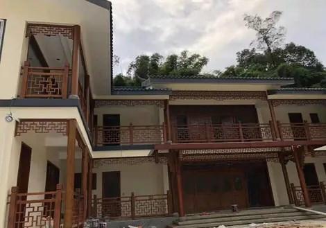 重庆火锅店仿古门窗_建筑项目合作-成都福运园林景观工程有限公司