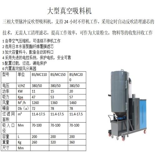 河南吸料机现货_大型吸料机相关-山东博硕环保机械设备有限公司