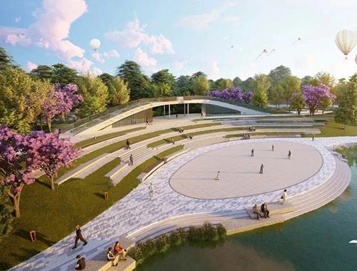 公園景觀提升改造工程 戶外市政和環境衛生機械