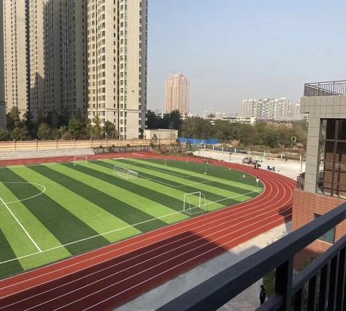 郑州硅PU球场生产厂 安联球场相关