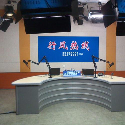 直播演播室系统订购_演播室系统集成相关-济南维迪奥广电技术服务有限责任公司