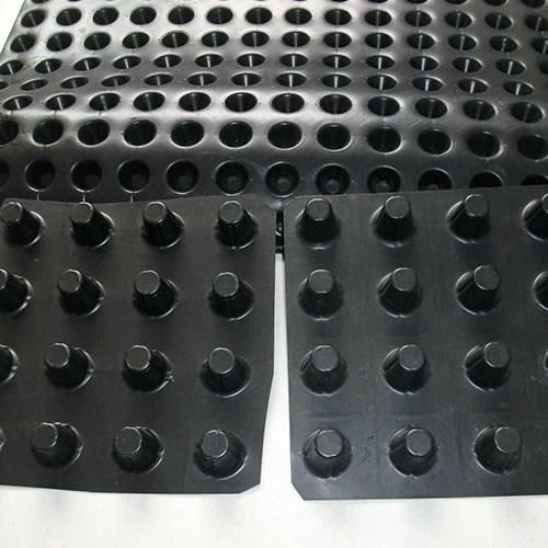 复合排水板相关 浙江地下车库排水板