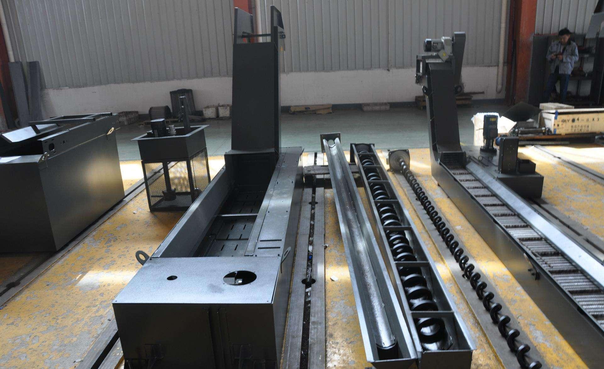 加工中心链板排屑机 刮板式排屑机相关