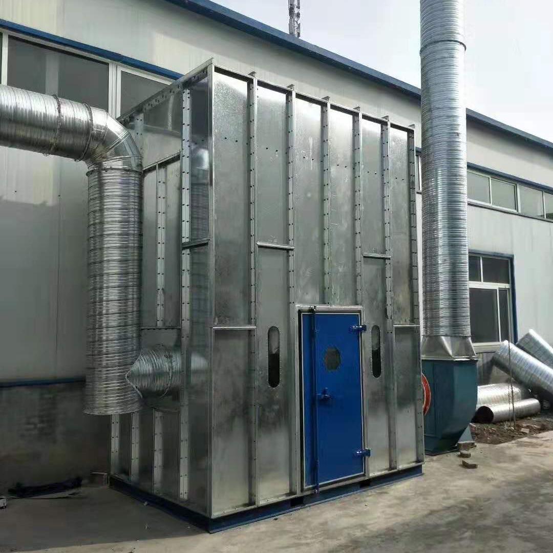 环保设备加工厂家 矿山石料大型布袋除尘设备厂家