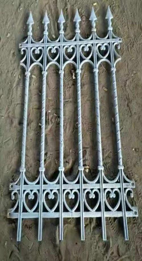 园艺护栏 黄石铸铁防护栏杆价格