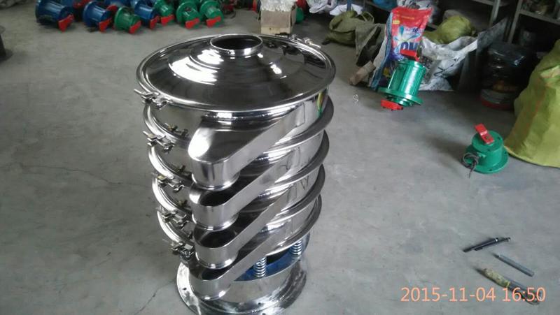固液分离矿业装卸设备定制 河南新乡食品行业震动筛加工